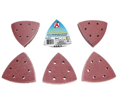 50-piece Sanding Pads for Triangular Sanders