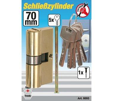 70 mm Brass Cylinder Lock