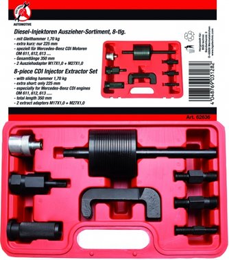 8-piece CDI Injector Extractor Set
