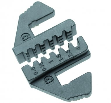 Crimping Jaws for insulated small cord-end terminals, for -1410/1411/1412