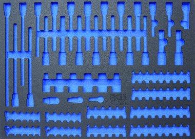 3/3 Workshop Trolley Tool Tray for Bits / Bit Sockets, empty