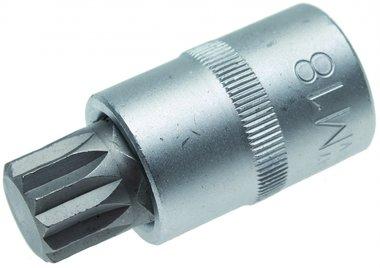 1/2 Bit Socket, Spline M18 x 55 mm