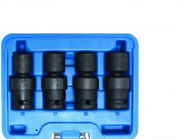 4-piece Impact Universal Joint Socket Set, 1/2