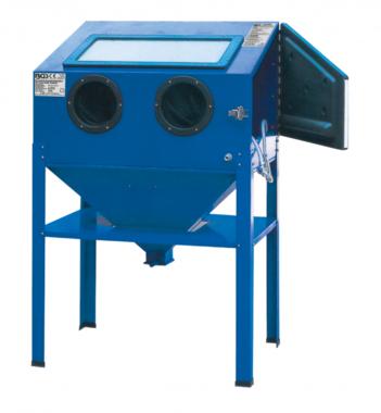 Pneumatic Sand Blasting Cabinet, large