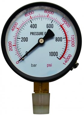 Pressure Gauge for Workshop Press BGS 9246