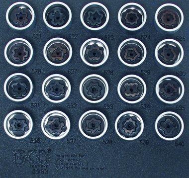 22-piece Rim Lock Tool Set for VW