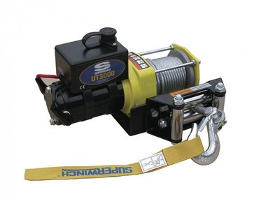 Ut3000 electric winch 12v dc ATV 8,90kg