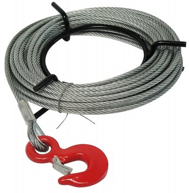 Spare parts for steel wire rope hoists Replacement Cable 20m
