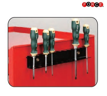 Screwdriver holder for Tool trolley Practical