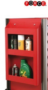 Bottle holder for tool trolley Practical