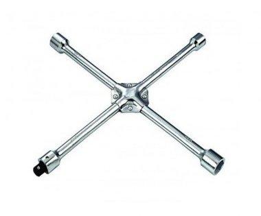Wheel wrench cross 17-19-21-22mm
