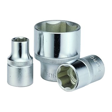 1/4 Surface drive socket 4mm