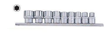 3/8 6-point Socket set 9pc