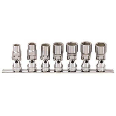 3/8 Universal socket set 7pc