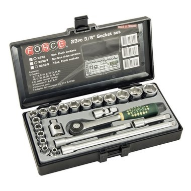 3/8 Socket set 23pc