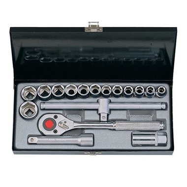 1/2 Socket set 17pc