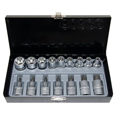Star socket set 16pc