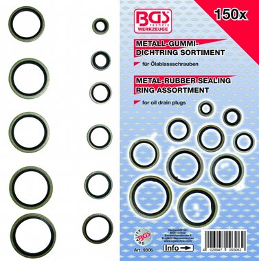 150-piece Bonded Seal Assortment