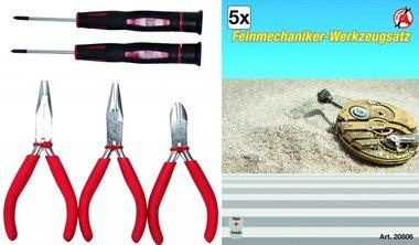 5-piece Precision Mechanics Tool Set