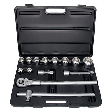 3/4 6pt. socket set 14pc
