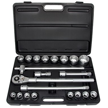 3/4 12pt. socket set 21pc