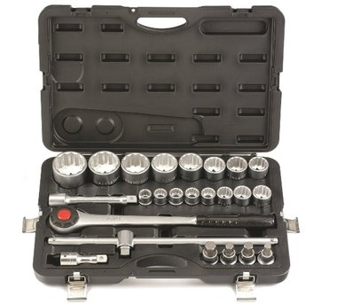 3/4 12pt. socket set 24pc