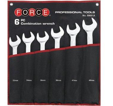 Combination wrench set Jumbo 6pc
