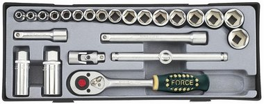3/8 Socket set 24pc