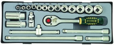 3/8 Socket set SAE 21pc