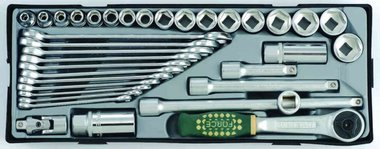 3/8 Combination socket set 36pc