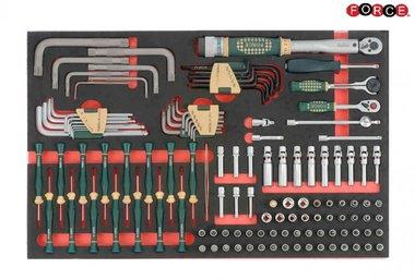 Foam 1/4 Socket Combination set 126pc