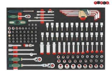 Foam 1/4 -3/8 Socket Combination set 133pc