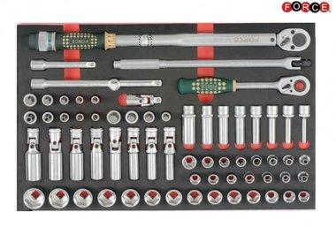 Foam 1/2 Socket Combination set 66pc