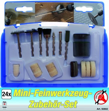 24-piece High Precision Drill Set