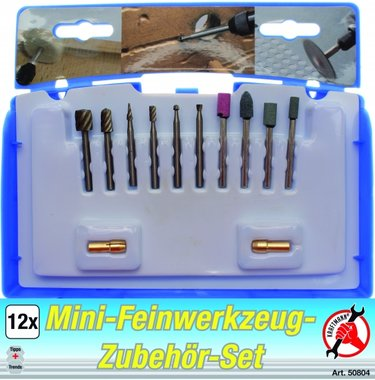 12-piece High Precision Drill Set