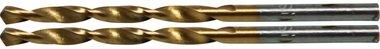 Twist Drill, HSS-G, Titanium Coated, 3.0 mm (2 pieces)