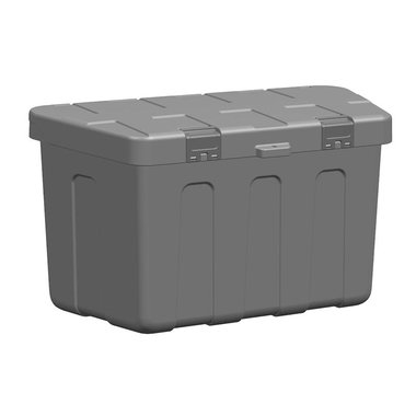 Storage box drawbar plastic 320 x 630 x H355mm excl. mounting kit