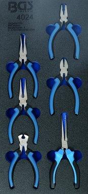 1/3 Tool Tray: 6-piece Precision Pliers Set