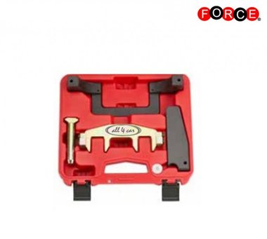 Engine timing tool set for BENZ M271