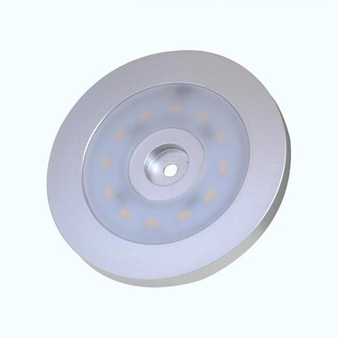 Surface mounted spotlight 12-leds 12V 240lm Ø55x5,0mm