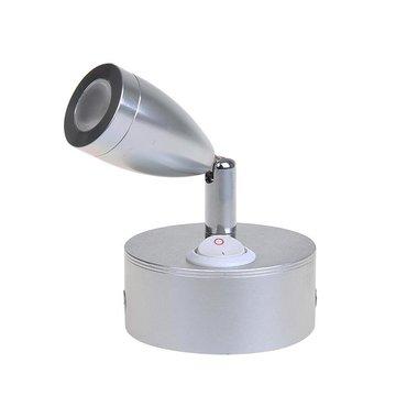 Surface mounted spotlight 1-led swiveling 12V 160lm Ø65x70-110mm