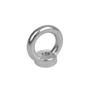 Ring nut M6, A4 RVS AISI 316