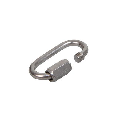 Quick link 4x32mm, A4 RVS AISI 316