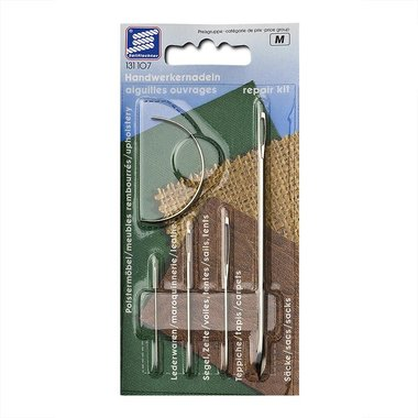 Needle repair kit, 4 pieces in blister