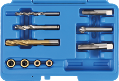 Universal Repair Set for Brake Caliper Bleeding Valves, 1/4 & 1/8 NPT