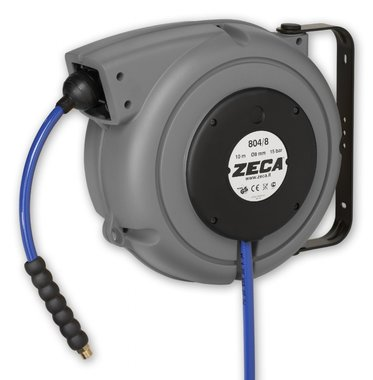 Air hose reel 11 m - 12.5 mm kpu hose