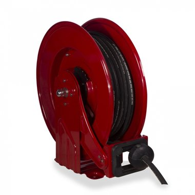 Grease hose reel 1/4 400 bar