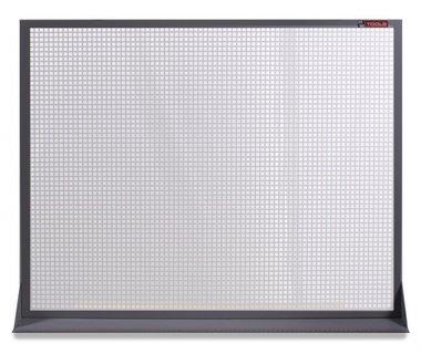 Flat perforated metal panel 120x94cm