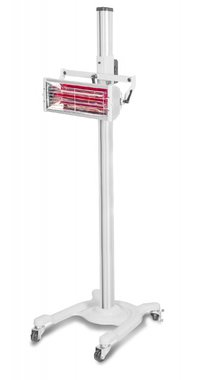 Infrared paint dryer with 1 lamps