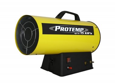 Propane gas heater 116 m³